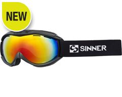 Toxic Ski Goggles (Matte Black/Double Red Revo)