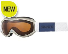Toxic Ski Goggles (Clear Matte White/Double Orange)