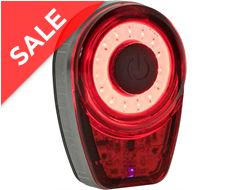 Ring Rechargeable COB LED Rear Light