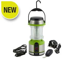 12LED Rechargeable Lantern with Remote