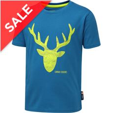 Kids' Curious Creature Stag Tee