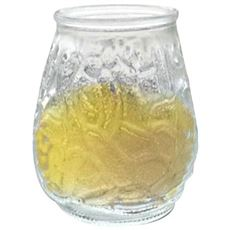 Frosted Coloured Jar Candle