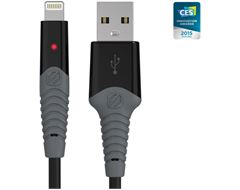 StrikeLine™ Rugged LED Charge & Sync Cable (Lightning USB)