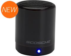 boomCAN BT Wireless Bluetooth Speaker