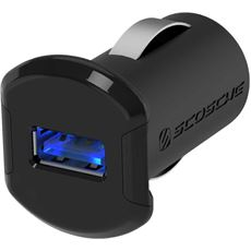 reVOLT™ 12W USB Car Charger  with Illuminated USB Port.