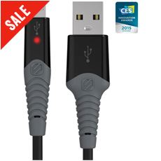 StrikeLine™ Rugged LED Charge & Sync Cable (Micro USB)
