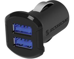 reVOLT™ dual 12W USB Car Charger with Illuminated USB Ports.