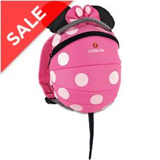 Disney® Pink Minnie Mouse Toddler Backpack with Rein