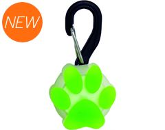 Petlit LED Collar Light (Lime Paw)