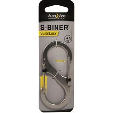 S-Biner SlideLock  #4 (Stainless Steel)