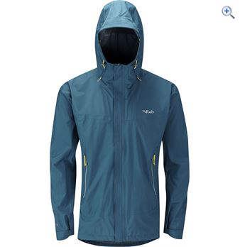 Rab Fuse Mens Waterproof Jacket  Size XL  Colour Blue