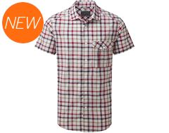 Avery Men's Short-Sleeved Check Shirt