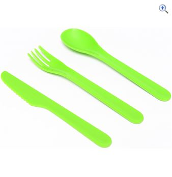 Hi Gear Cutlery To Go Set  Colour Assorted