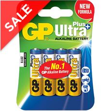 Ultra Plus Alkaline Batteries (4 x AA)