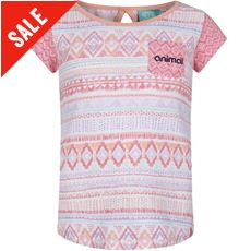 Girls' Pattern Block T-Shirt (7-12)