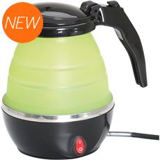 Collapsible Green Electric Kettle