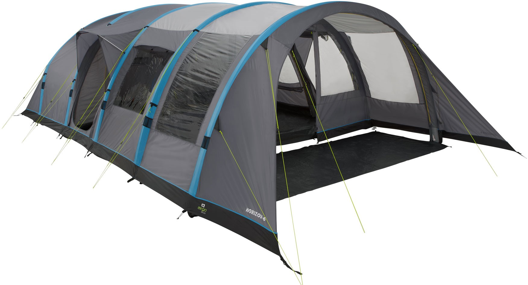 Solus Horizon 6 Inflatable Tent  sc 1 st  GO Outdoors : family tunnel tents uk - memphite.com