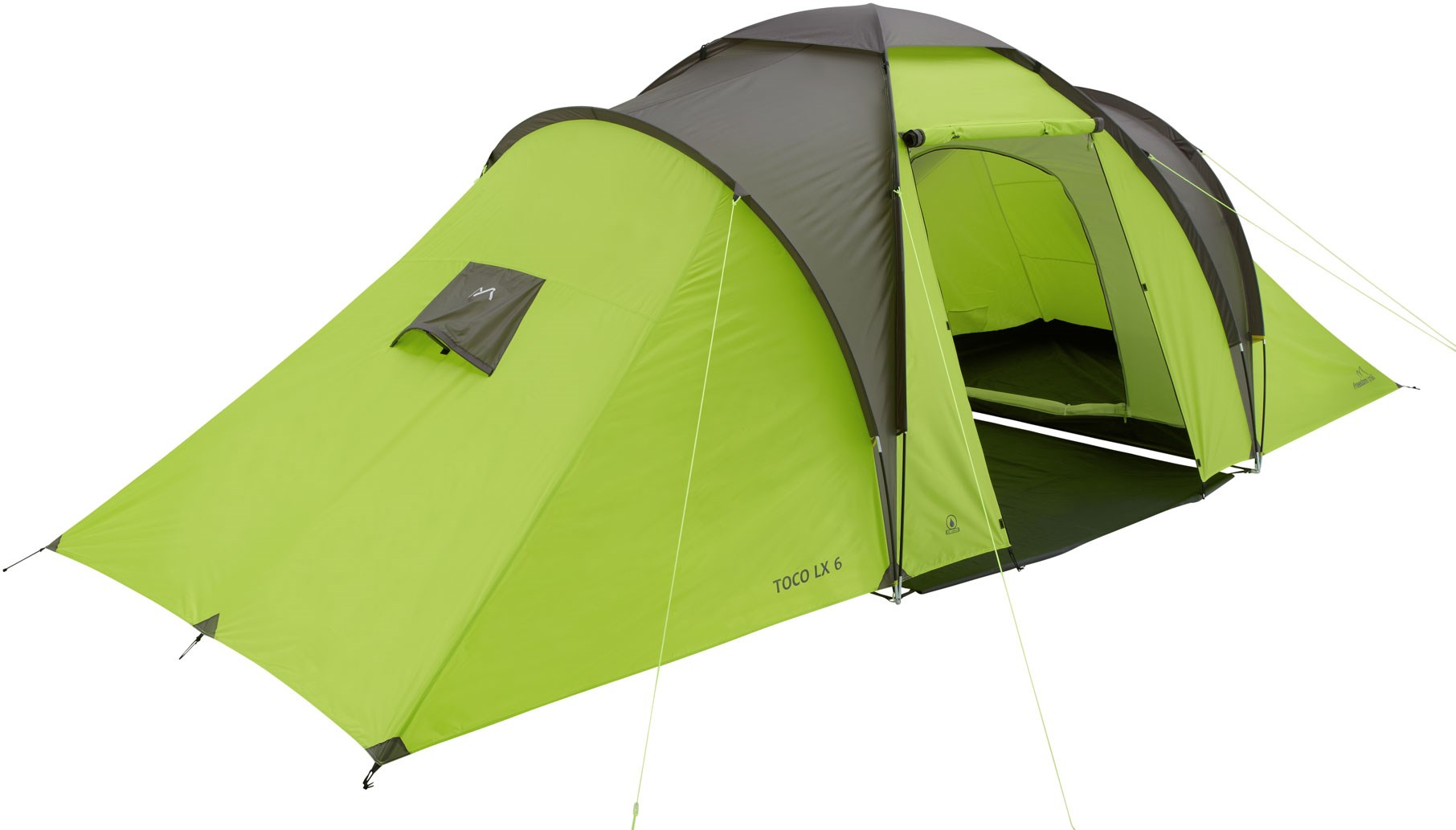 sc 1 st  GO Outdoors & Freedom Trail Toco LX 6 Tent | GO Outdoors