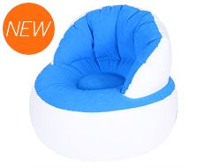 Cloud Kids' Inflatable Flock Chair