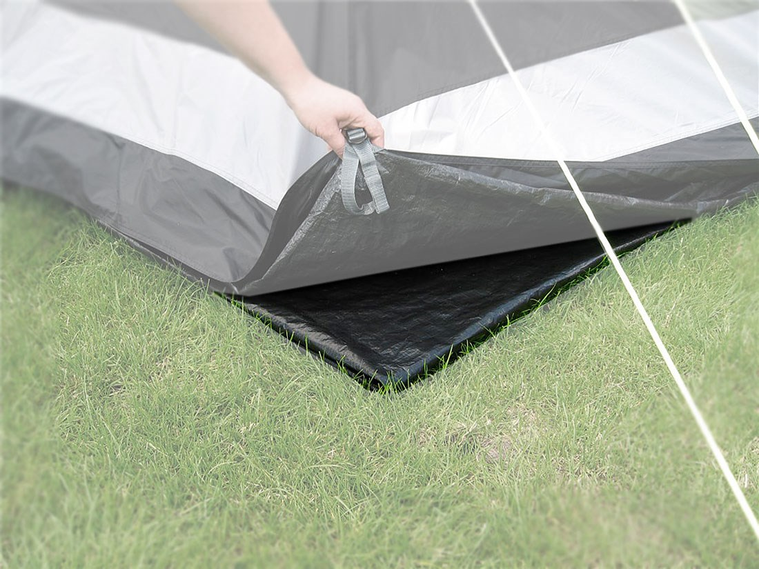 & Outwell Cape Coral 400 Tent Footprint | GO Outdoors