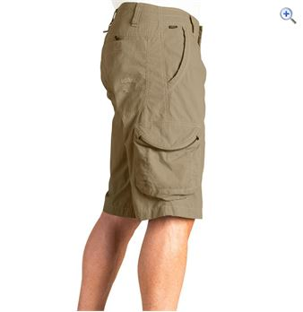 Kuhl Mens Ambush Cargo Shorts  Size 36  Colour Khaki