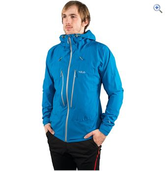 Rab Mens Spark Waterproof Jacket  Size S  Colour MAYA