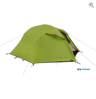 Image of OEX Cougar EV II Backpacking Tent - Colour: MUSTARD