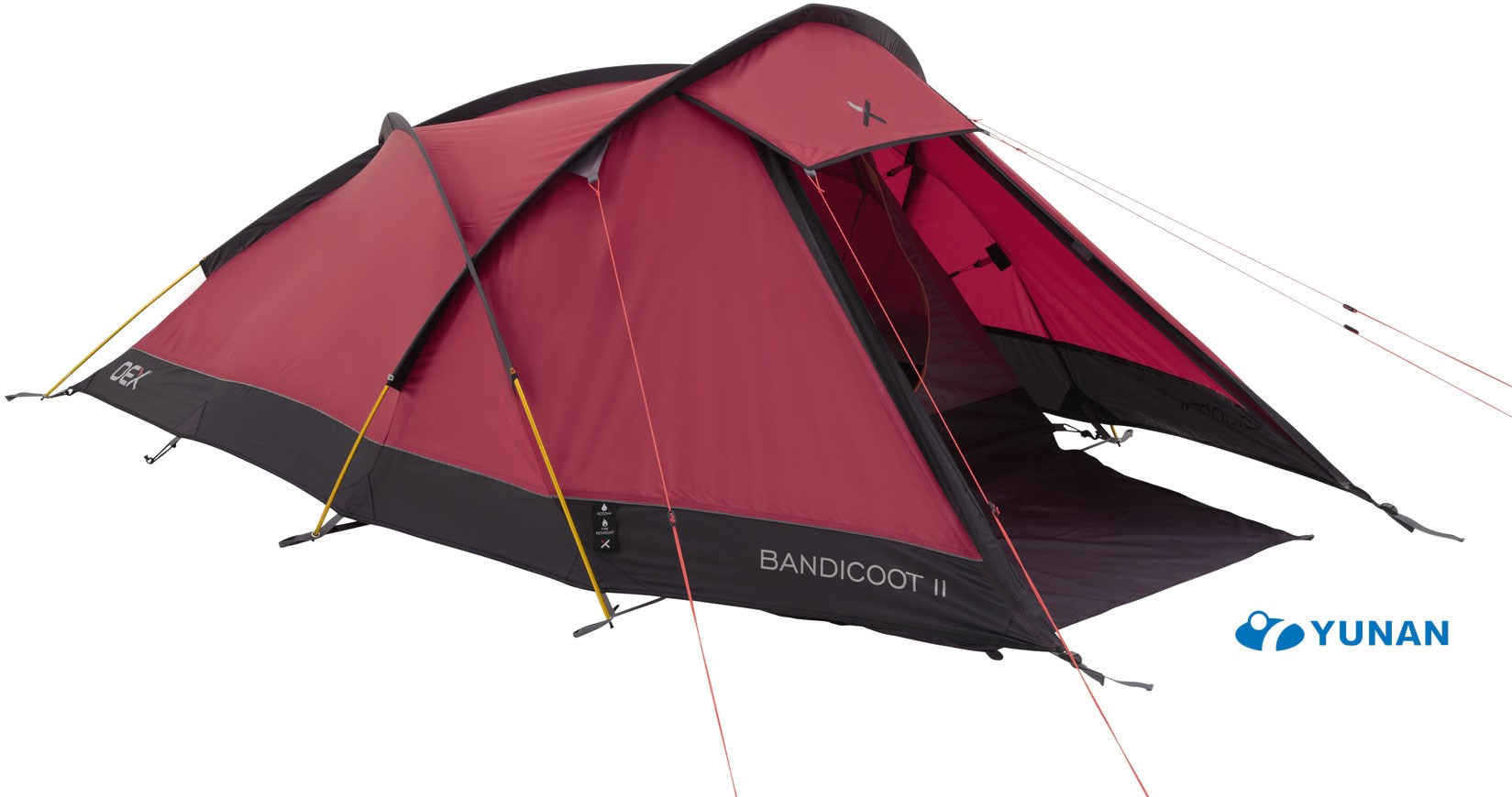 sc 1 st  GO Outdoors & OEX Bandicoot II 2 Man Semi-Geodesic Tent | GO Outdoors