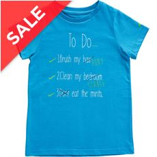 Kids' To Do T-Shirt