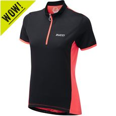 Women's Half Zip Short Sleeve Jersey