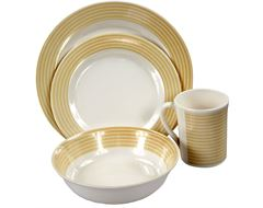 Deluxe 16-Piece Melamine Set