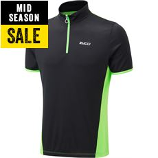 Men's Half Zip Short Sleeve Jersey