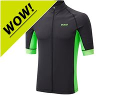 Men's Elite Full Zip Short Sleeve Jersey