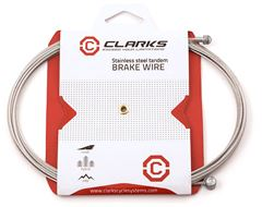 Clarks Universal S/S Inner Brake Wire (L2000mm, Fits All Major Systems)