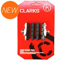 Road Brake Pads, Brake Shoes & Cartridge + Extra Pads (for Shimano and other systems, 52mm)