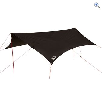 OEX Bush Tarp - Colour: Black