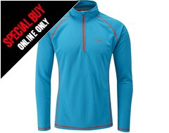 Men's Dryflo 150 Zip Top