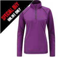Women's Dryflo 150 Zip Top