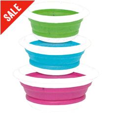 Silicone Bowl Set