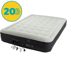 Flock Double Layer Airbed