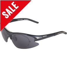 Fushion II Sport Sunglasses (Black/Interchangeable)