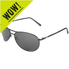 Prime Sunglasses (Black/Sintec Polarized)