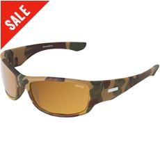Hudson Sunglasses (Camo/Sintec Orange Polarized)