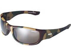 Hudson Sunglasses (Camo/Sintec Brown Mirrored)