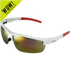 Antigua Sport Sunglasses (White/Interchangeable)