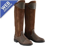Women's Buckland Long Wax & Leather Counntry Boots
