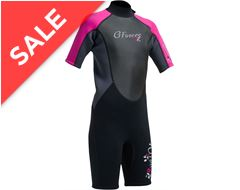 G-Force Junior Girls' 3mm FL Shorti Wetsuit