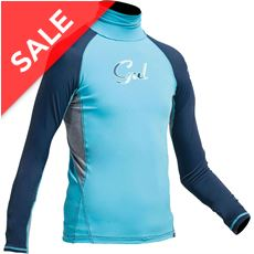 Junior Girl's Long Sleeve Rashguard