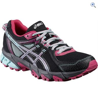 Asics GEL-Sonoma 2 Women's Trail Running Shoes - Size: 8 - Colour: Black Pink