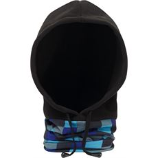 Square Print Thermal Hood (Unisex)